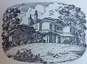 old drawing of woodlands